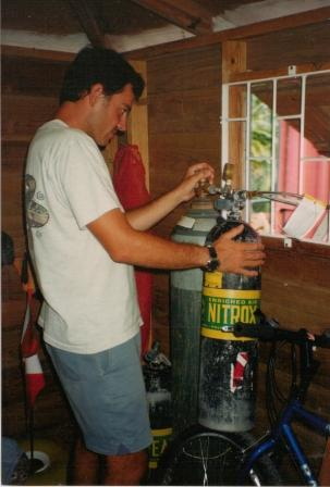 First blending station in the Eastern Caribbean