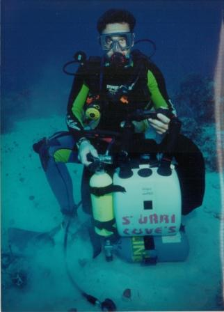 rebreather rescue in Bahamas